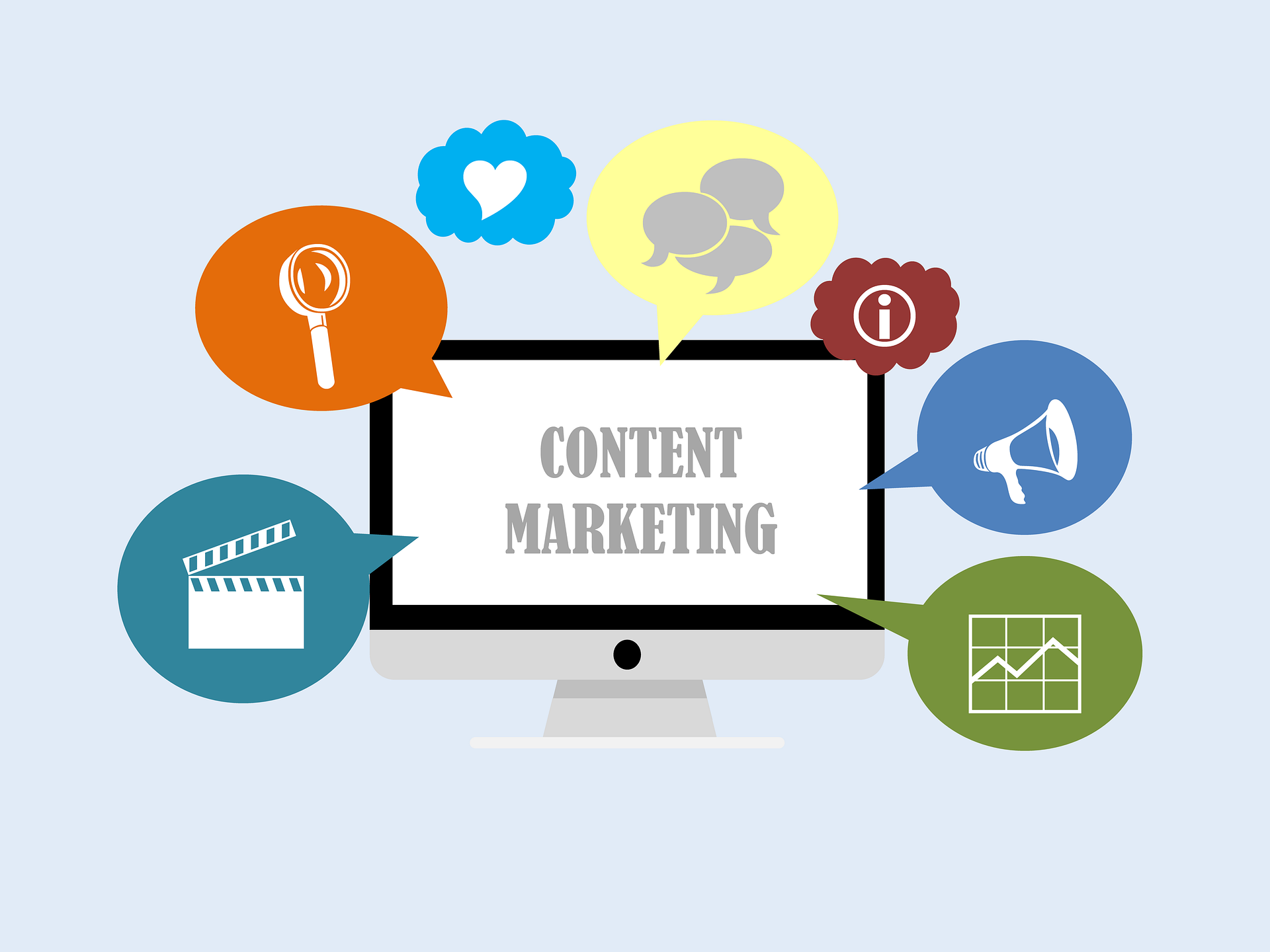 Use video advertising as part of content marketing.